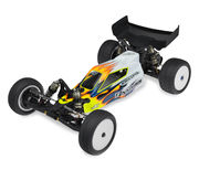 "JConcepts TLR 22 ""Finnisher"" Body w/6.5"" Hi-Clearance Wing"