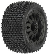 "Pro-Line Gladiator 2.8"" on F-11 wheels Black (2)"