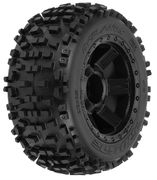 "Pro-Line Badlands 3.8"" - Traxxas Style Bead - All Terrain Tires Mounted (2)"