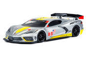 Protoform Chevrolet Corvette C8 - Clear Body -  for 190mm TC