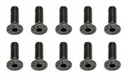 Team Associated Screws M3 x 10mm Flat Head