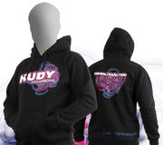 HUDY Sweater Hooded - Black (L)