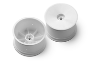 Xray 2WD/4WD Rear Wheel Aerodisk With 12mm Hex IFMAR - White (2)