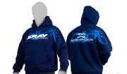 Xray Sweater Hooded - Blue (L)