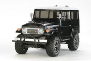 Tamiya Toyota Land Cruiser 40 - CC01 Black Sp. Painted Body - Kit