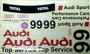 Audi Decals 1 For GT8 Bodies