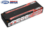 Team Corally Voltax 120C LiPo Battery 7200mAh 7.4V Stick 2S  4mm Bullit