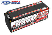 Team Corally Voltax 120C LiPo HV Battery - 6500 mAh - 15.2V - Stick 4S - 5mm Bullit