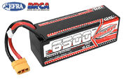 Team Corally Voltax 120C LiPo HV Battery 6500 mAh 15.2V Stick 4S Hard Wire XT90