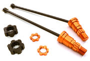 Integy Universal Drive Shafts With Stub Axles For X-Maxx 6S (2)