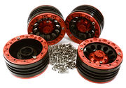 "Integy Billet Machined 1.9"" Alloy Wheels For TRX-4 (4)"