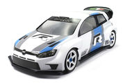 Mon-Tech 1:10 WR4 Rally Clear Lexan Body - 190mm