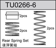 TeamC Rear Big Bore Springs For Truck (2)