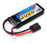 Vapextech 7.4V 2000mAh 25C LiPo Battery For TRX 1/16