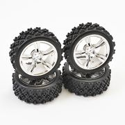 Fastrax 1/10Th Touring Wheel Rally Tyre (4)
