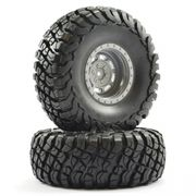 "FTX Mauler 2.2"" Pre Mounted Tire (2)"