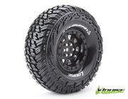 "Louise Tire & Wheel CR-Griffin 1.9"" Black Crawler (2)"
