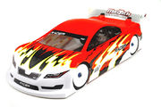 Mon-Tech Racer 1/10 190mm Clear Unpainted Pre-Cut Body - Xray