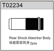 TeamC Rear Shock Absorber Body (2) - TM2SC