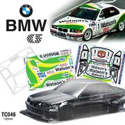 TeamC BMW E36 M3 1:10 Touring Car body 190mm - Unpainted