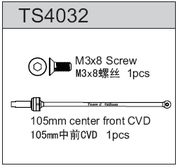 TeamC Center front CVD 105mm