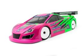 ZooRacing PreoPard 1:10 Touring Car body - 190mm - 0.5mm LW