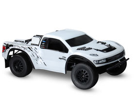 "JConcepts Illuzion ""Ford Raptor SVT SCT-R"" Body (Clear) (One Size Fits Most)"