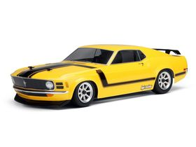 HPI-Racing 1970 Ford Mustang Boss 302 Body - Clear - 200mm