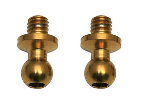 Team Associated Factory Team TiN 3.25 mm Ballstuds - Long Neck (2)