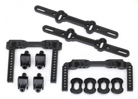 Traxxas Body Mounts Front and Rear Adjustable (2)