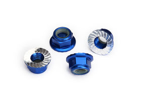Traxxas Aluminum Lock Nut Flanged M5 (4)
