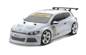 Carson 1:10 Body Set VW Scirocco clear w/decal