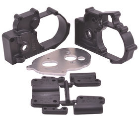 RPM Black Gearbox Housing and Rear Mounts for Traxxas 2wd Vehicles