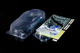 Tamiya Ford Mustang GT4 Clear 1/10 Body
