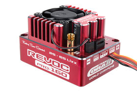 "Team Corally Revoc PRO 160 ""Racing Factory"" 2-6S Esc For Sensored And Sensorless Motors 160A"