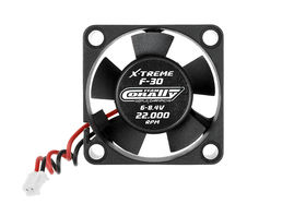 Team Corally ESC Ultra High Speed Cooling Fan 30mm 6v-8,4V Dual ball bearings ESC connector