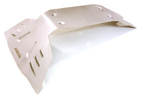 Integy Stainless Steel Rear Protection Skid Plate For Traxxas X-Maxx