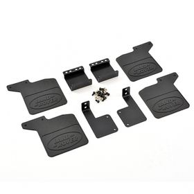 Fastrax TRX-4 Optional Rubber Mud Flaps & Alloy Mounts For Defender