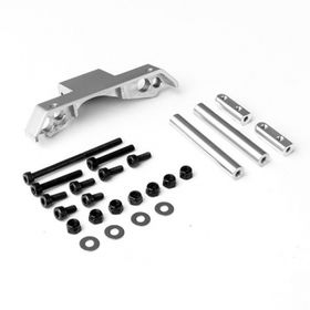 Gmade GS01 Front Axle Truss Upper Link Mount (Silver)