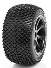 Medial Pro - Sport Tires mounted on Black Rims for Traxxas Revo & Maxx - Matrix 4.0 (2)