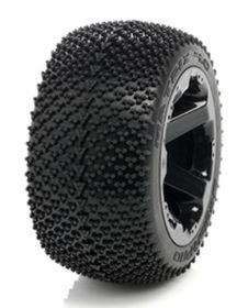 Medial Pro - Sport Tires mounted on Black Rims for Traxxas Summit, Revo & Maxx - Matrix 4.0 (2)