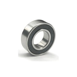 EuroRC 3/16x1/2x0.196 Rubber Sealed Ball Bearing 4.76x12.7x4.98 mm (10)