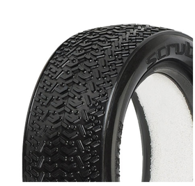 "Pro-Line Scrubs 2.2"" 4WD MC (Clay) Buggy Front Tires (2)"