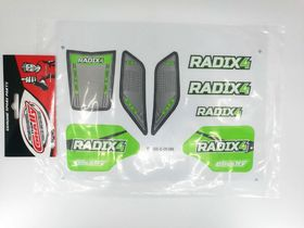 Team Corally Decal sheet Radix 4S